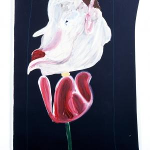 Fiordo (Fjord) 2010 Acrilico su tela, Acrylic on canvas 179X100 cm ca